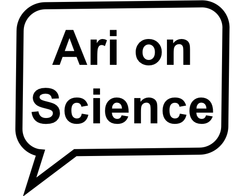 Ari on Science Logo